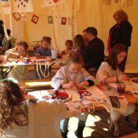 kunst kinderkunst kinderen den haag juf creatief kunstles museum museumles denhaag knutselen schilderen tekenen ontwerp ontwerpen bouwen
