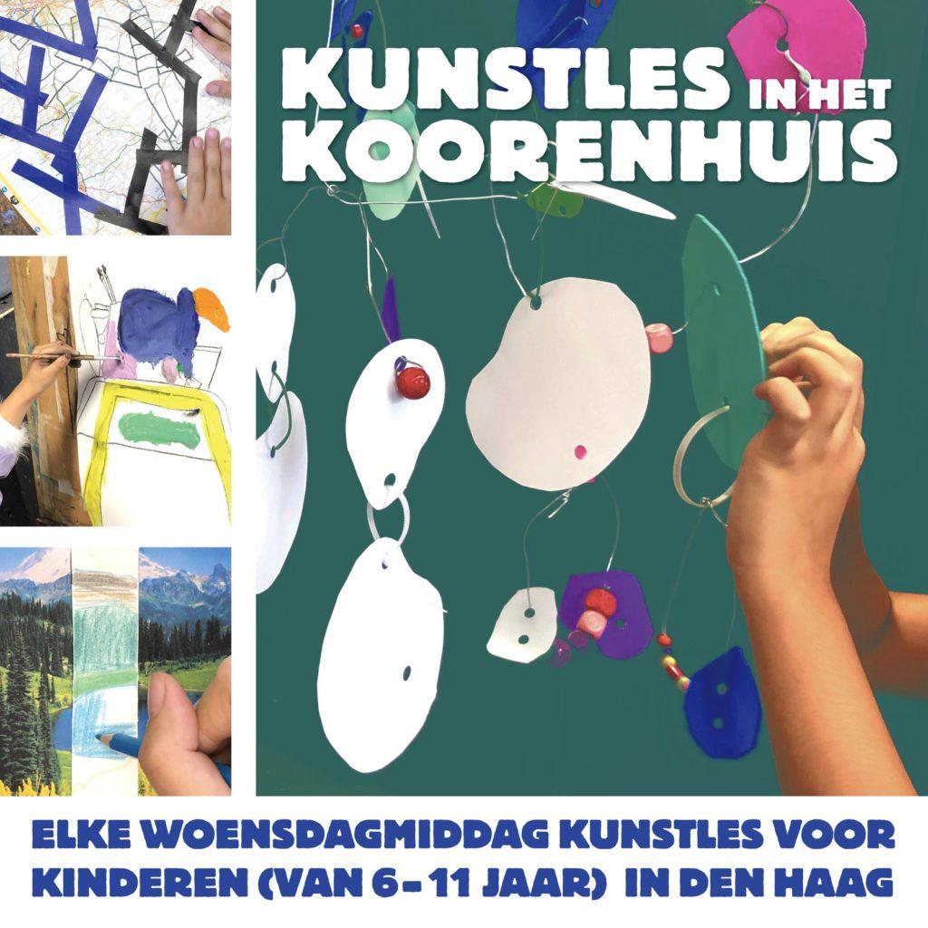 Kunstles Den Haag kinderen koorenhuis